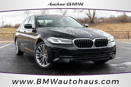Featured new 2021 BMW 530i xDrive Sedan for sale in St. Louis, MO