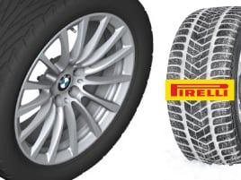 7 Series Winter Tire & Wheel Package