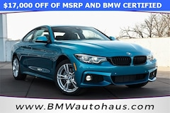 Pre-Owned 2018 BMW 4 Series 430i xDrive Coupe in Saint Louis, MO