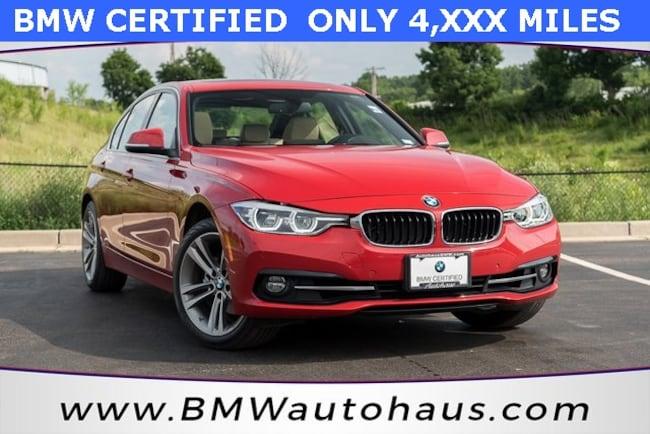 certified pre-owned 2017 BMW 3 Series 330i xDrive Sedan in st louis mo