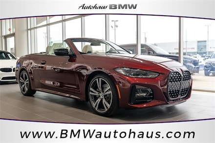 Featured new 2022 BMW 430i xDrive Convertible for sale in St. Louis, MO