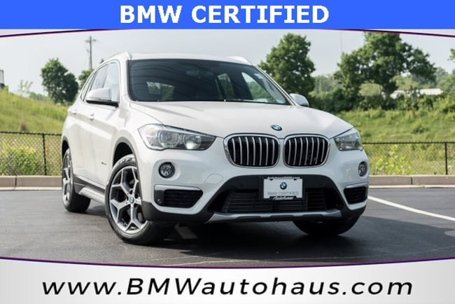 certified pre-owned 2016 BMW X1 xDrive28i SUV in st louis mo