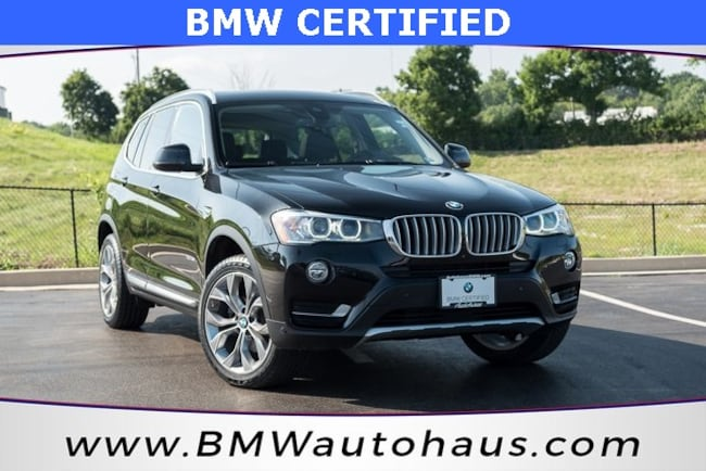 certified pre-owned 2017 BMW X3 xDrive35i SUV in st louis mo