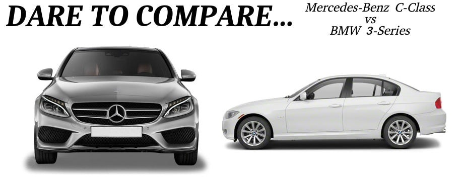mercedes benz c class vs bmw 3 series autohaus on edens. Black Bedroom Furniture Sets. Home Design Ideas