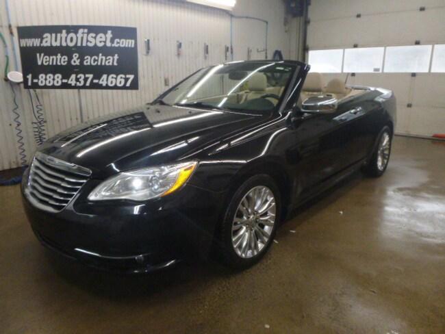 2012 Chrysler 200 Convertible Limited $ 59.30/SEM+TX Décapotable ou cabriolet
