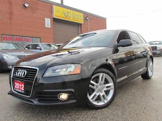 2012 Audi A3 2.0T Progressive, S Line, Leather, Pano Sunroof, o Hatchback