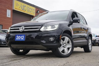 2012 Volkswagen Tiguan AWD, LOW KMs, Bluetooth, Leather, Sunroof SUV