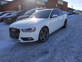 2013 Audi A4 Bluetooth, AWD, Leather, Sunroof Sedan