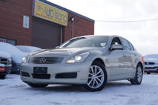 2007 INFINITI G35 Luxury, Navi, Camera, Bluetooth Sedan