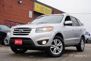 2012 Hyundai Santa Fe SE, Low KMs, Bluetooth, Leather, Sunroof SUV