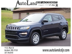 New Chryser Dodge Jeep RAM 2018 Jeep Compass SPORT 4X4 Sport Utility for sale in Accident, MD