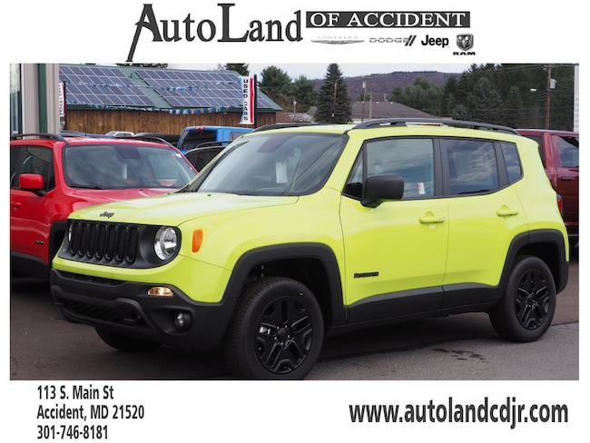 New 2018 Jeep Renegade UPLAND 4X4 Sport Utility for Sale in Accident, MD