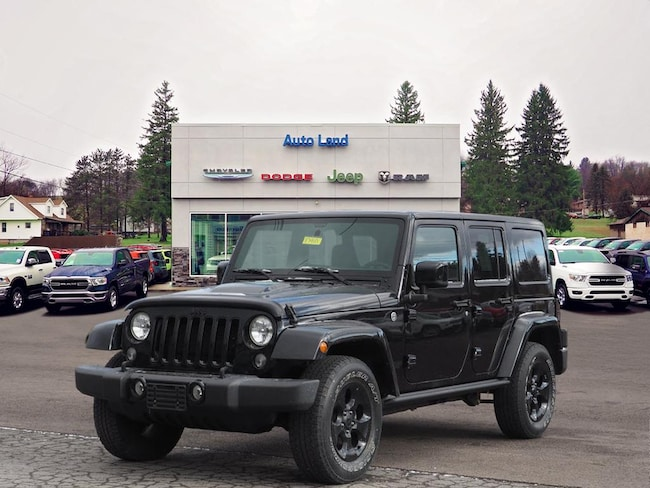 Used 2015 Jeep Wrangler Unlimited Sahara 4x4 SUV for Sale in Accident, MD