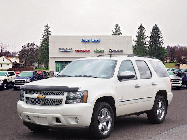 Used 2014 Chevrolet Tahoe LTZ SUV for Sale in Accident, MD