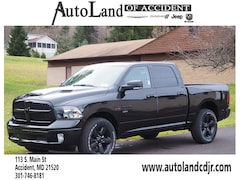 New 2019 Ram 1500 CLASSIC BIG HORN CREW CAB 4X4 5'7 BOX Crew Cab for sale in Accident, MD