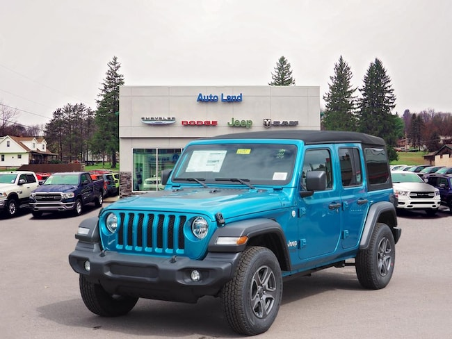 New 2019 Jeep Wrangler UNLIMITED SPORT S 4X4 Sport Utility for Sale in Accident, MD