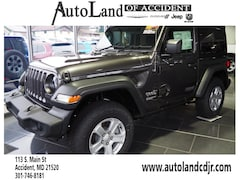New Chryser Dodge Jeep RAM 2018 Jeep Wrangler SPORT S 4X4 Sport Utility for sale in Accident, MD