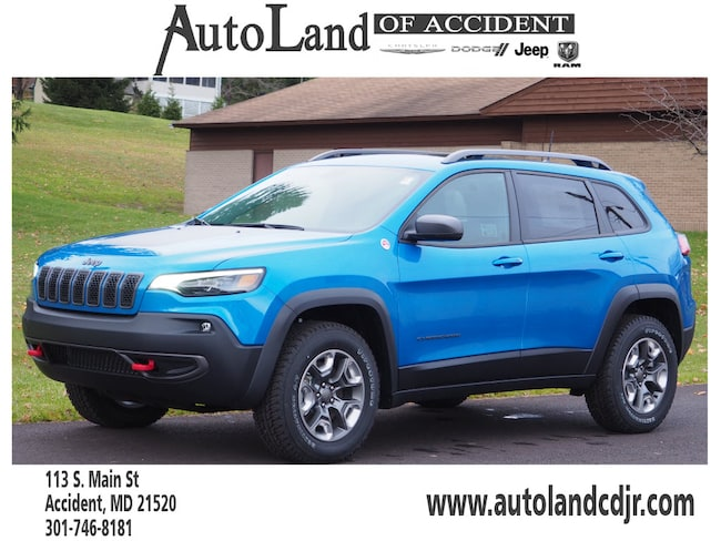 New 2019 Jeep Cherokee TRAILHAWK ELITE 4X4 Sport Utility for Sale in Accident, MD