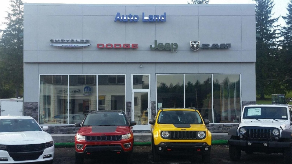 Dodge Dealers In Maryland >> Auto Land Chrysler Dodge Jeep Ram Of Accident New Used