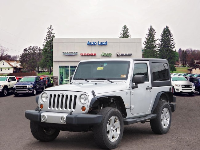 Used 2012 Jeep Wrangler Sahara SUV for Sale in Accident, MD