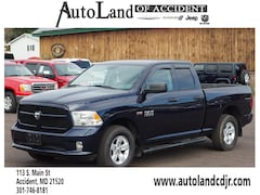 Used 2017 Ram 1500 Express 4x4 Express  Quad Cab 6.3 ft. SB Pickup for Sale in Accident, MD