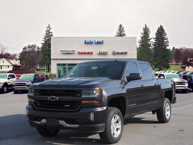 Used 2016 Chevrolet Silverado 1500 LT Truck Crew Cab for Sale in Accident, MD