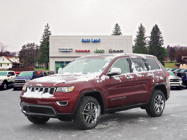 New 2019 Jeep Grand Cherokee LIMITED 4X4 Sport Utility for Sale in Accident, MD