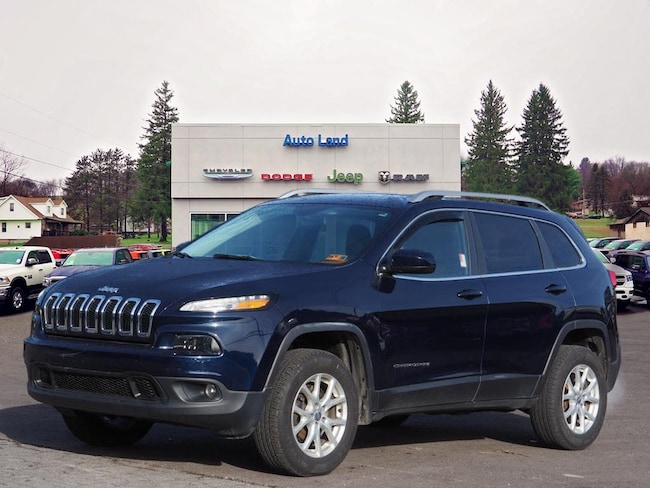 Used 2015 Jeep Cherokee Latitude 4x4 SUV for Sale in Accident, MD