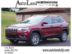 New 2019 Jeep Cherokee LATITUDE PLUS 4X4 Sport Utility for Sale in Accident, MD