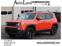 New Chryser Dodge Jeep RAM 2018 Jeep Renegade ALTITUDE 4X4 Sport Utility for sale in Accident, MD