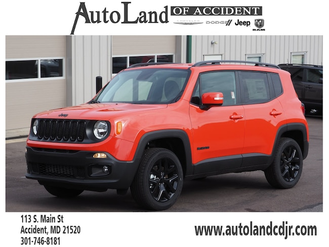New 2018 Jeep Renegade ALTITUDE 4X4 Sport Utility for Sale in Accident, MD