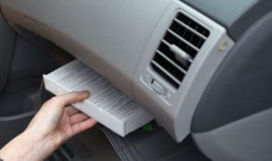 IN CABIN AIR FILTER REPLACEMENT