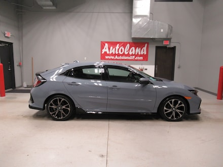 2017 Honda Civic Hatchback Sport Touring Sport Touring CVT