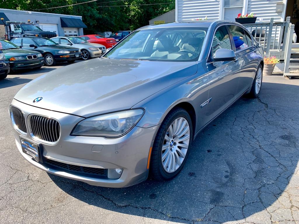 Used 2009 BMW 750LI For Sale at Auto Landmark   VIN: WBAKB83559CY61501