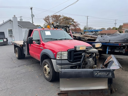 2007 Ford F450 Super Duty Cab & Chassis Plow Truck