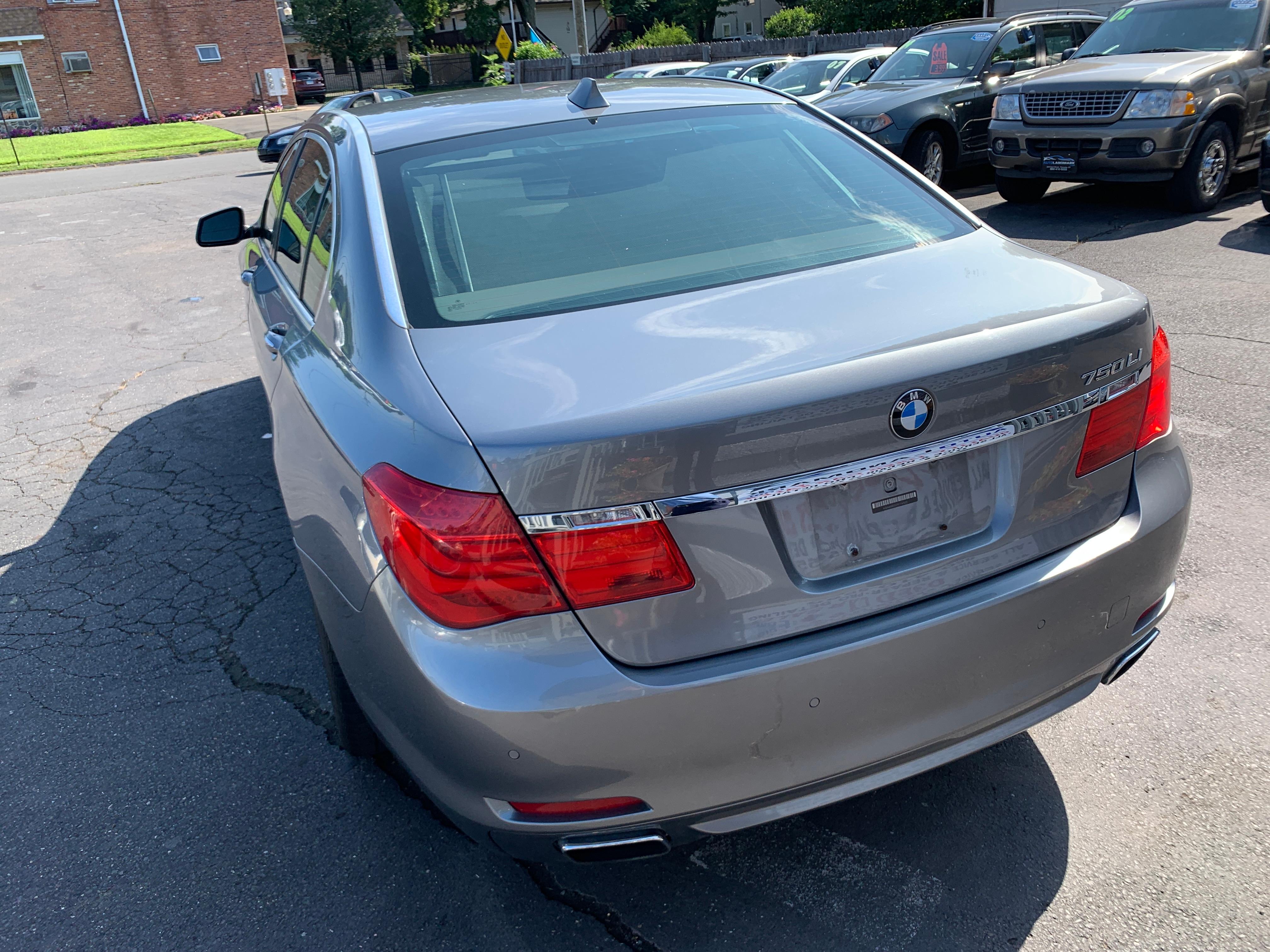 Used 2009 BMW 750LI For Sale at Auto Landmark | VIN