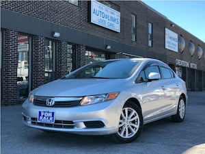 2012 Honda Civic EX !! POWER SUNROOF & BLUETOOTH  !!!
