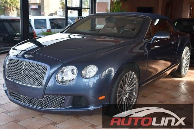 Used 2013 Bentley Continental Gtc For Sale Vallejo Ca Vin
