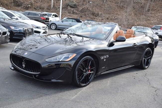 2015 Maserati Granturismo Convertible Granturismo Sport Convertible