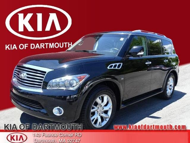 2014 INFINITI QX80 with Theater Package SUV For Sale in Dartmouth, MA