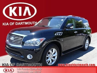 Used 2014 INFINITI QX80 with Theater Package SUV For Sale in Dartmouth, MA
