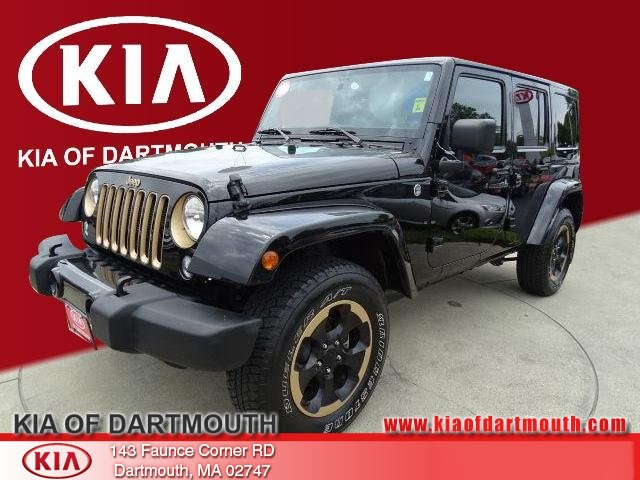 2014 Jeep Wrangler Unlimited Sahara 4x4 SUV For Sale in Dartmouth, MA