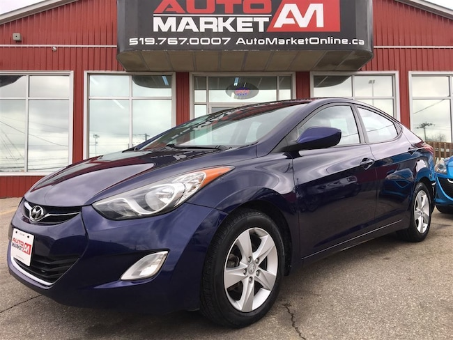 2013 Hyundai Elantra GLS, Alloys, Sunroof, WE APPROVE ALL CREDIT Sedan