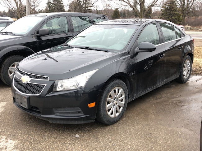 2011 Chevrolet Cruze LT Turbo w-1SA, CERTIFIED, WE APPROVE ALL CREDIT Sedan