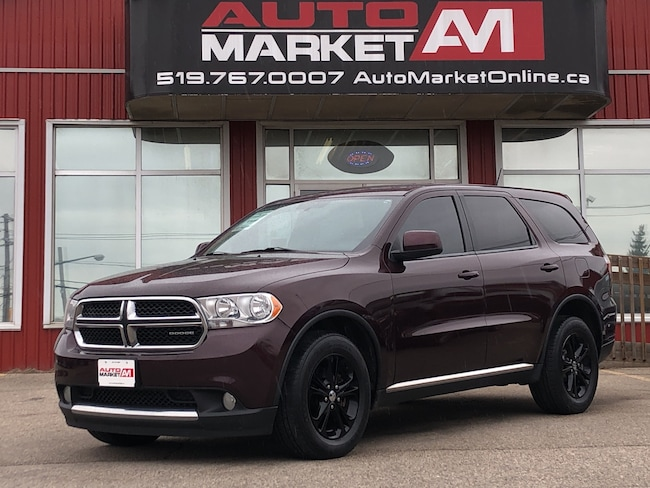 2012 Dodge Durango CERTIFIED, SXT, AWD, 7 Seater, WE APPROVE ALL CREDIT SUV