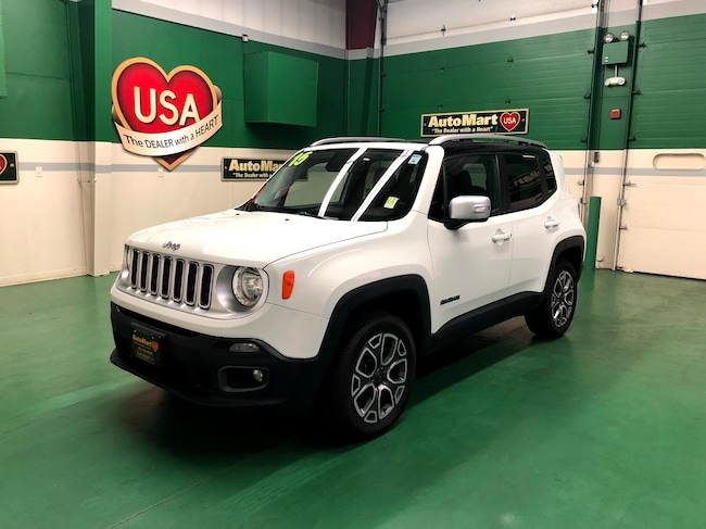 2015 Jeep Renegade Limited 4x4 SUV