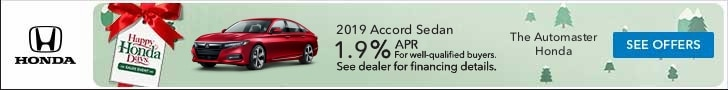 2019 Accord Sedan - Happy Honda Days Special