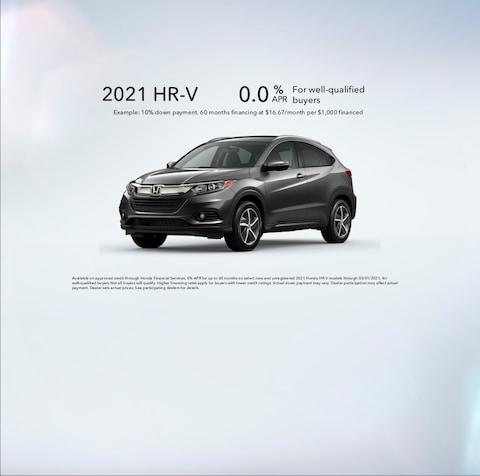 2021 HR-V Special APR
