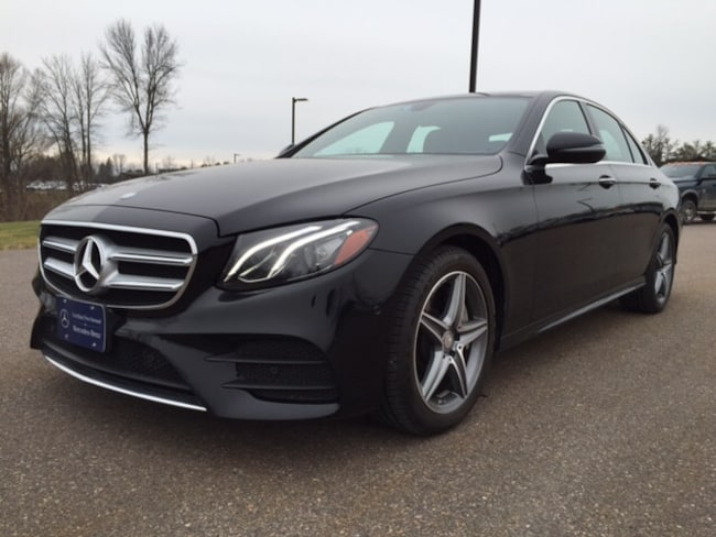 2017 Mercedes-Benz E-Class E 300 4MATIC Sedan