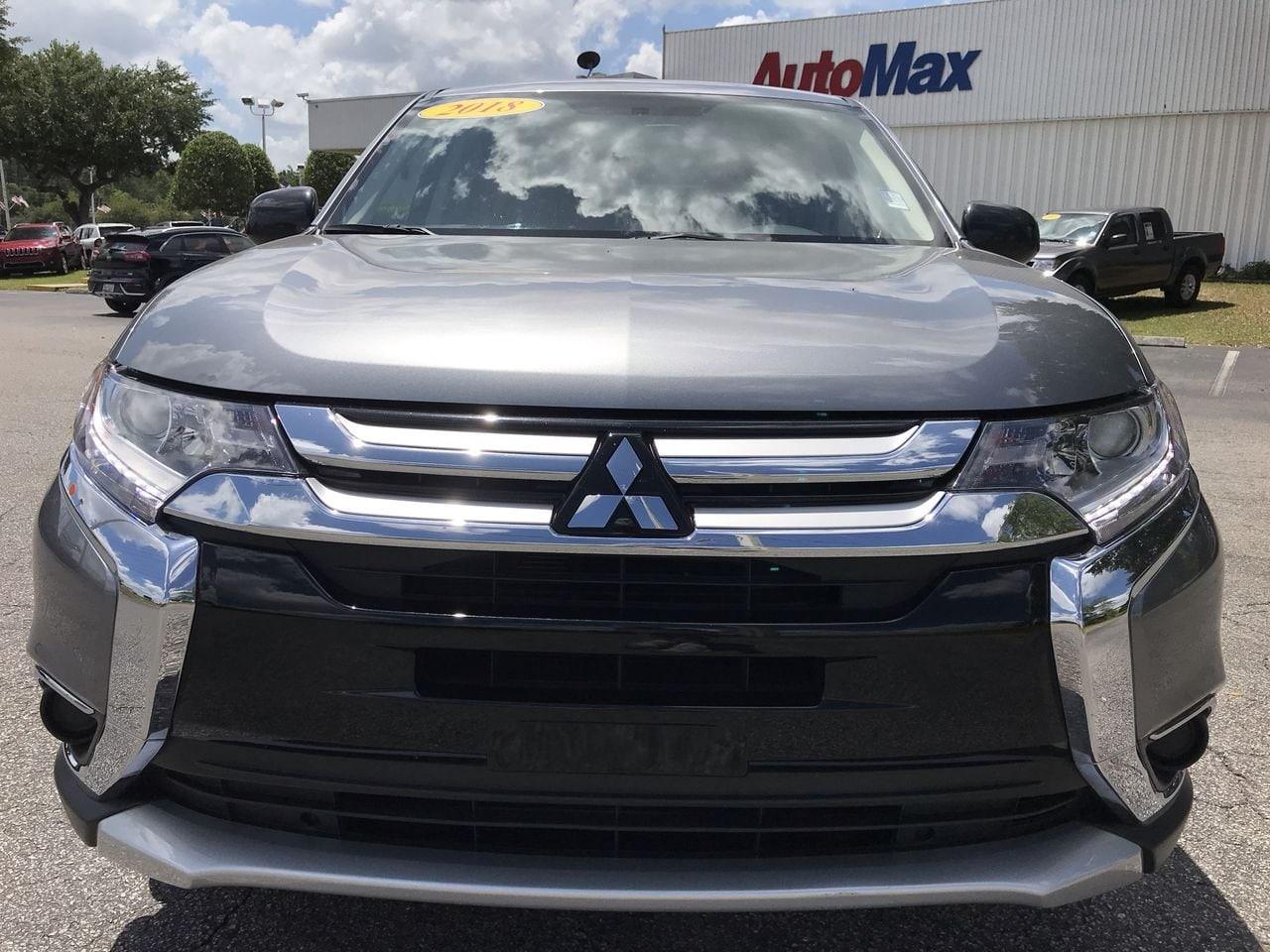 2018 Used Mitsubishi Outlander ES CUV For Sale | Ocala near Gainesville |  A4932